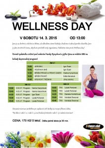 Wellness day 14. 3. 2015
